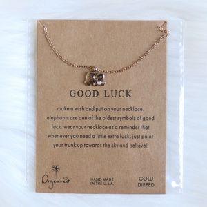 Jewelry - Dainty Good Luck Elephant Necklace Pendant